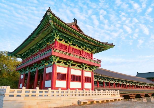 Woljeonggyo-brücke in gyeongju, südkorea