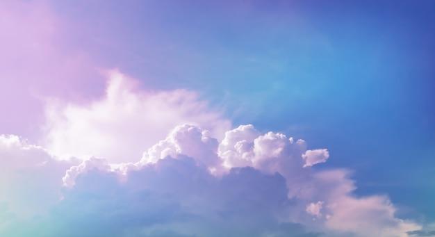 Wolke mit pastellfilter