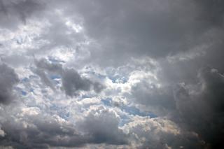 Wolken, dunkel, wolken, cloudet