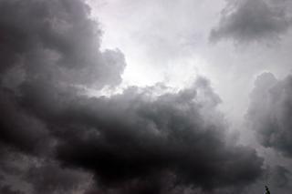 Wolken, ersticken, wolken