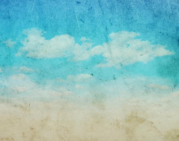 Wolken grunge hintergrund