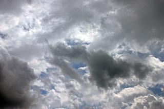Wolken, himmel, grau