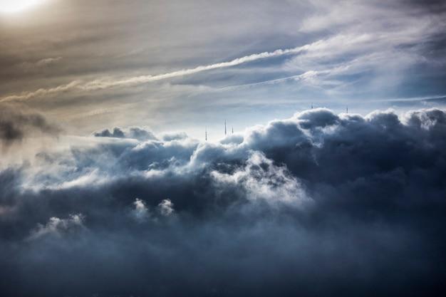 Wolken in rio de janeiro