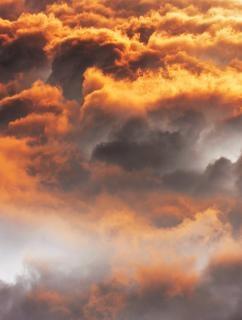 Wolken luft