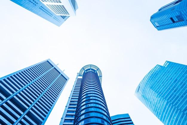 Wolkenkratzer bürogebäude