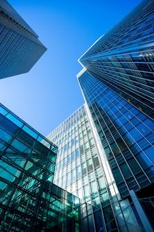 Wolkenkratzer-bürogeschäftsgebäude london