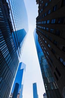 Wolkenkratzer des freedom tower manhattan in new york