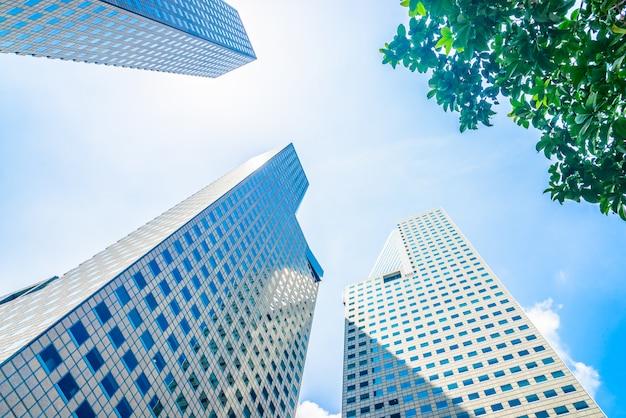 Wolkenkratzer-gebäude