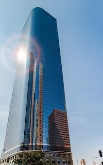 Wolkenkratzer im finanzviertel von los angeles kalifornien