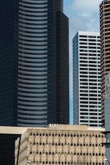Wolkenkratzer in einer Stadt, Staat Seattle, Washington, USA