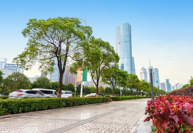 Wolkenkratzer in shanghai, china