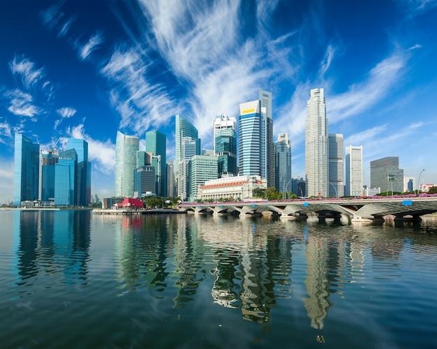 Wolkenkratzer in singapur