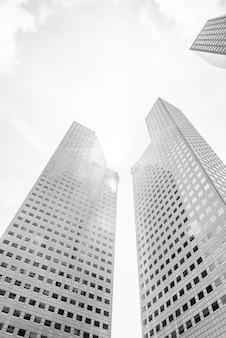 Wolkenkratzergebäude
