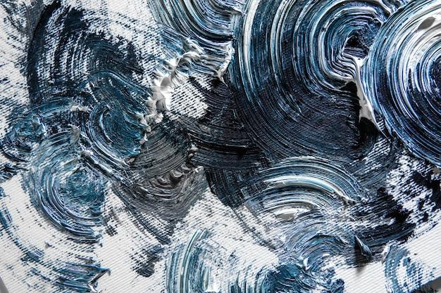 Wolkig. creme strukturierte malerei auf nahtlosem hintergrund, abstrakte kunstwerke. hintergrundbild für gerät, exemplar für werbung. das kunstprodukt des künstlers, zweifarbig. inspiration, kreative beschäftigung.