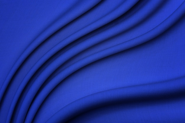 Wollstoff. die farbe ist blau.