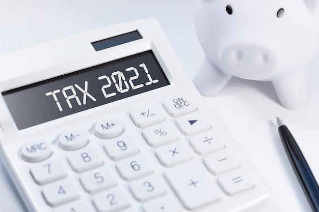 Word tax 2021 auf taschenrechner