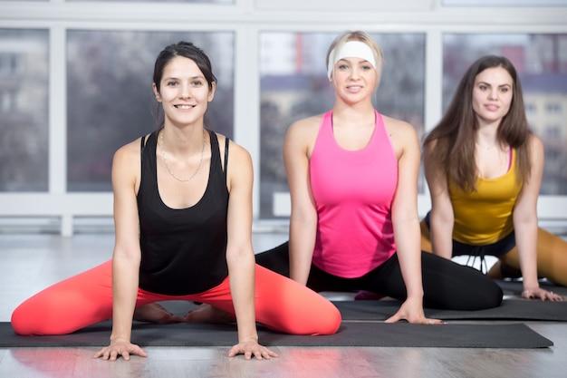 Workout für oberschenkel und leisten