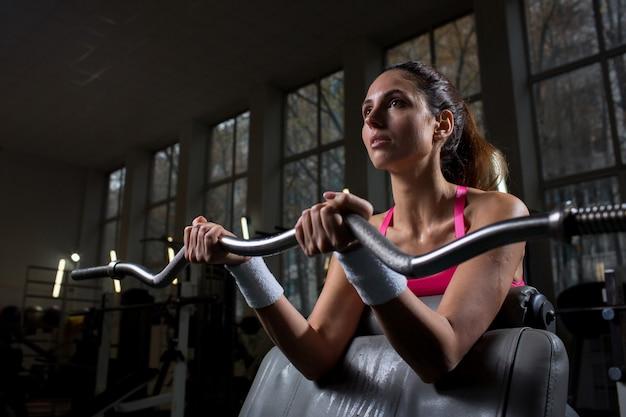 Workout mit gewicht