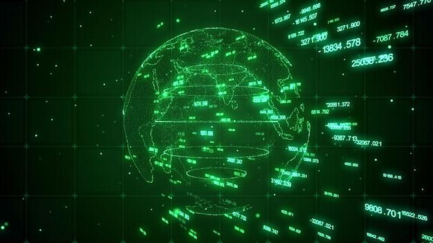 World digital technology hintergrund