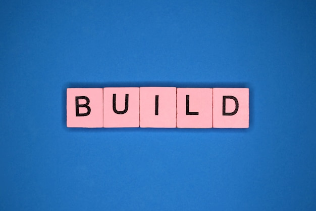 Wort bauen
