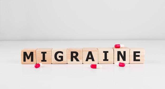 Wort migräne zusammen mit paracetamol tabletten