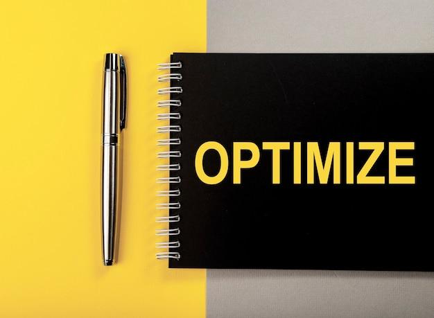 Wortkostenoptimierungskonzept optimieren