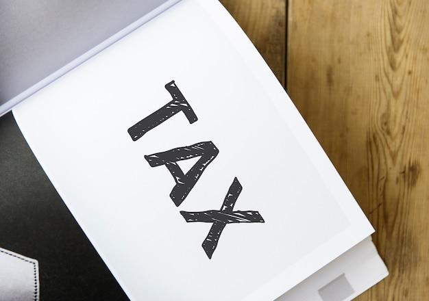 Wortsteuer für ein buch