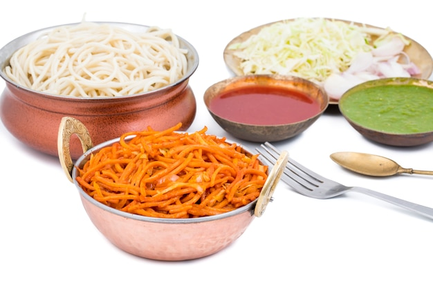 Würzige fried vegetable veg nudeln
