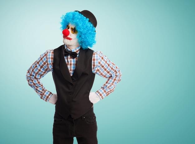 Wütend clown