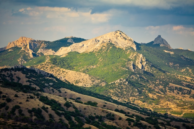 Wunderschöne berglandschaft