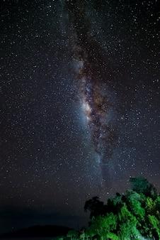 Wunderschöne milchstraße