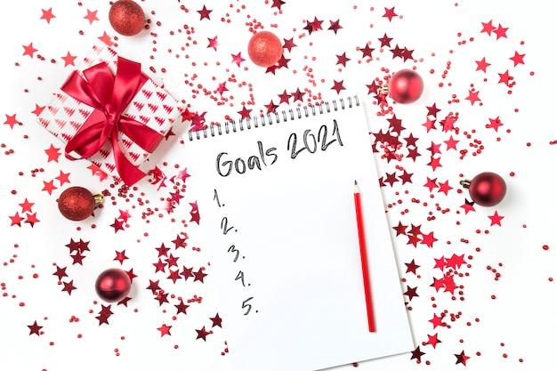 Wunschliste und planungsgeschenke für weihnachten und neujahr 2021