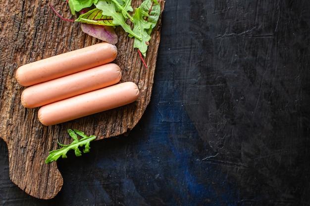Wurst gemüse protein gemüse fleischlos soja seitan weizen klassischer geschmack vegetarisch oder vegan