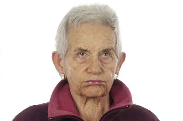 Wut ältere frau