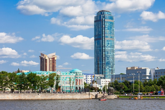 Wyssozki wolkenkratzer in jekaterinburg