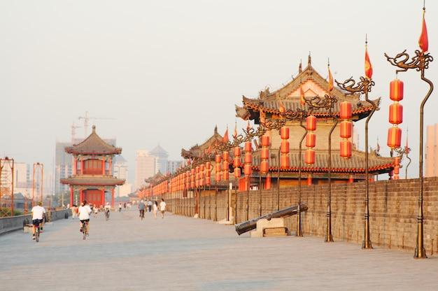 Xi'an stadtmauer, china