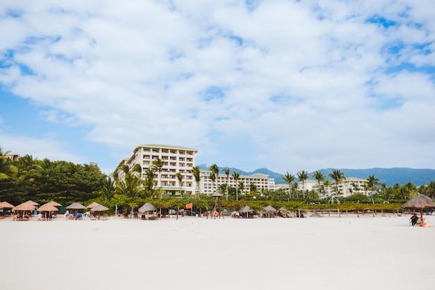 Yalong bay beach resort in der provinz hainan