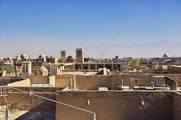 Yazd / iran - 1. oktober 2012: acient stadt yazd im iran