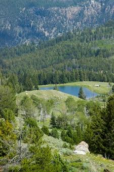 Yellowstone national park, wyoming, der wichtigste park in den usa
