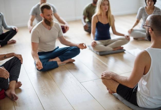 Yoga-klasse-konzept