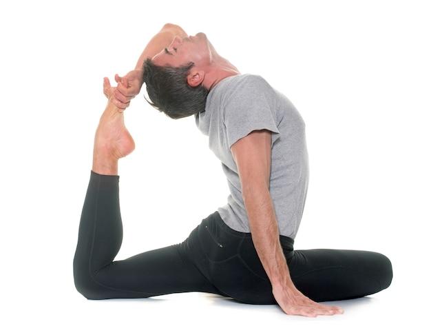 Yogamann lokalisiert