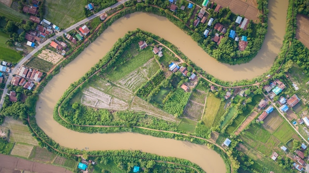 Yom river in sukhothai, thailand