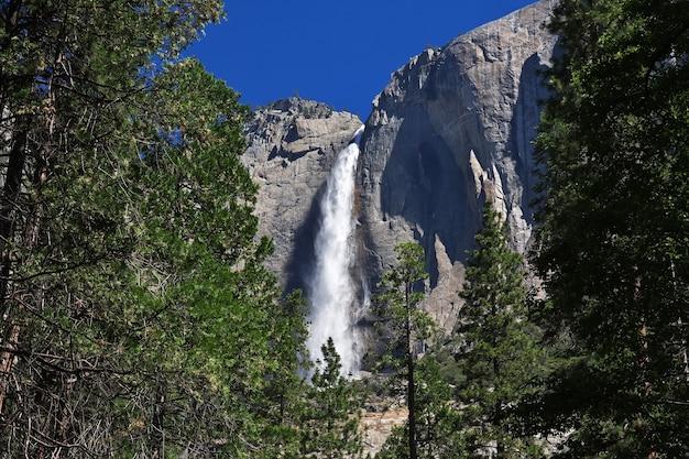 Yosemite national park in kalifornien der vereinigten staaten