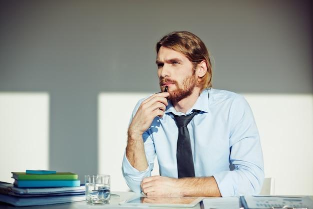 Young executive denken