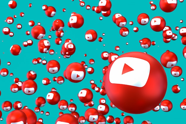 Youtube emojis schweben