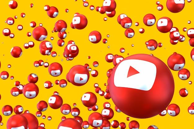 Youtube logo emoji hintergrund