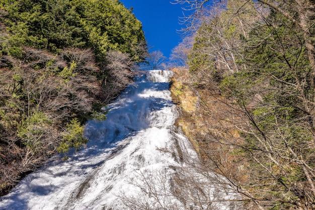 Yudaki fällt in nikko, japan