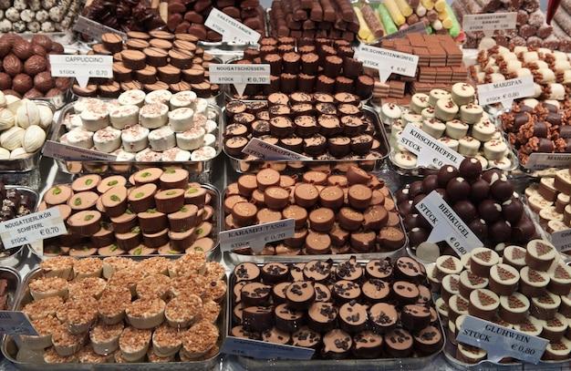 Zähler von süßigkeiten