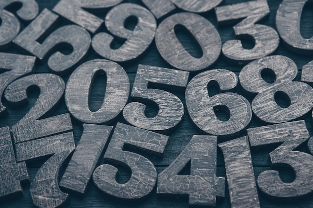 Zahlen textur. finanzdatenkonzept. matematisch