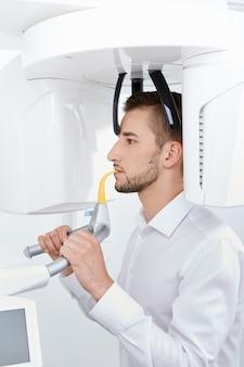 Zahn-röntgen-konzept